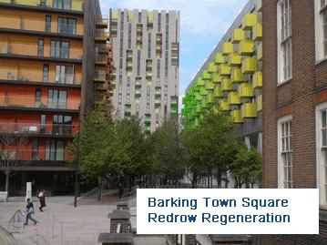 Barking Town Square Redrow Regeneration