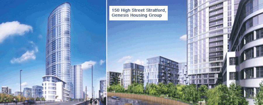 150 High Street Stratford, Genesis Housing Group