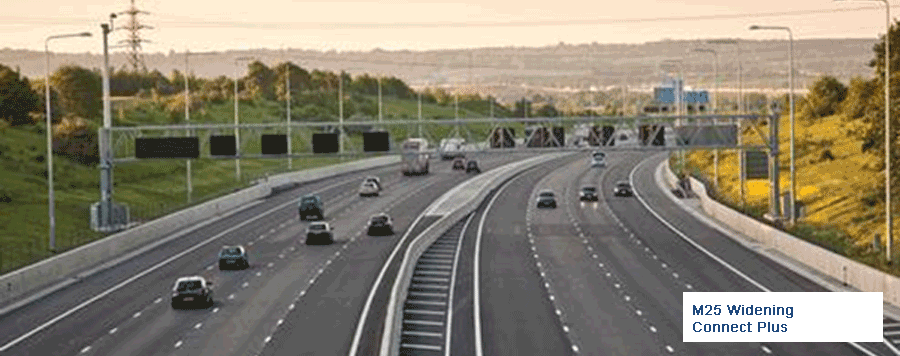 M25 Widening, Connect Plus